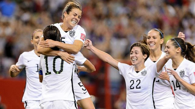 The United States women's soccer team regained the top spot in the FIFA rankings, released Friday.