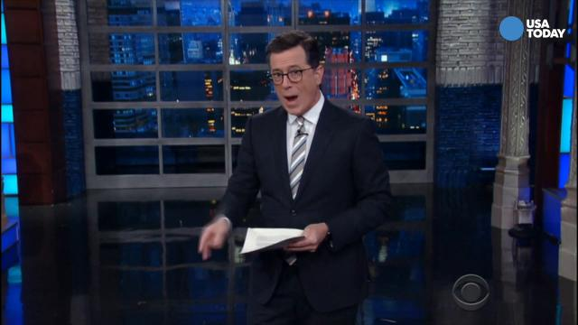 Conan, Colbert, Fallon, Meyers and Kimmel on Comey's hearing, and the drinks that went with them. After you watch our favorite jokes, vote for yours at opinion.usatoday.com.