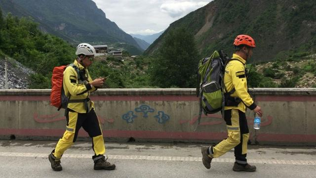 Rescue efforts continue after deadly China landslide Video provided by AFP