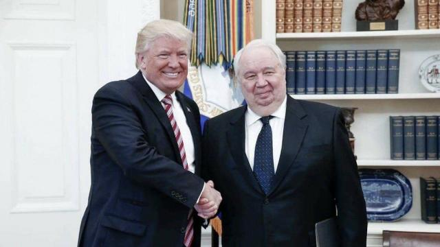 Russia's longtime ambassador to the U.S. might be stepping down from the role, but the country's foreign ministry won't confirm anything yet. Video provided by Newsy