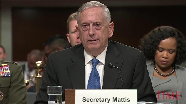 James Mattis says the U.S. is 'not winning in Afghanistan'