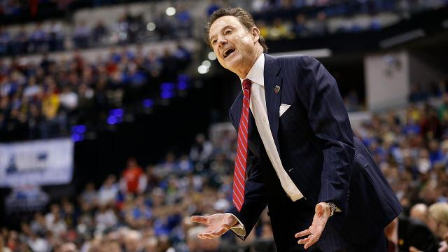 NCAA suspends head coach Pitino five games for sex-for-hire scandal