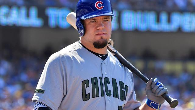 The Chicago Cubs optioned outfielder Kyle Schwarber to Triple-A Iowa on Thursday, hoping he can break out of a season's long slump.