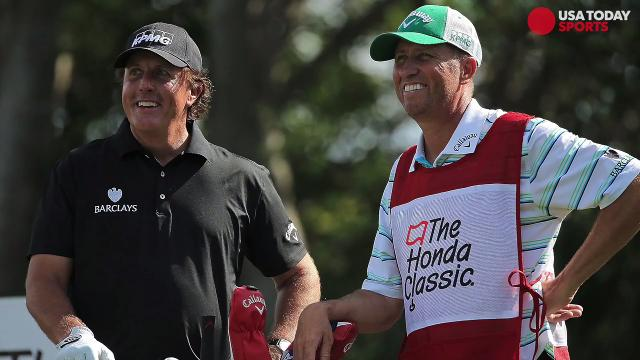 Phil Mickelson and longtime caddie part ways