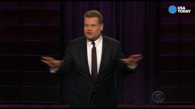 Kimmel, Conan, Fallon, Meyers and Corden on the latest hearing in the Russia investigation and the NBA champs refusal to go to Washington. Take a look at our favorite jokes, then vote for yours at opinion.usatoday.com.