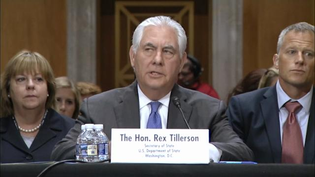 Tillerson: US citizen released in North Korea