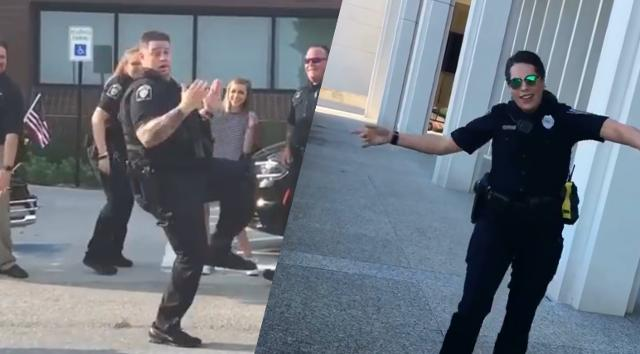Two Nebraska police departments are battling it out to earn the best dancer title. Between Lincoln and Bellevue PD, who do you think has the best moves?