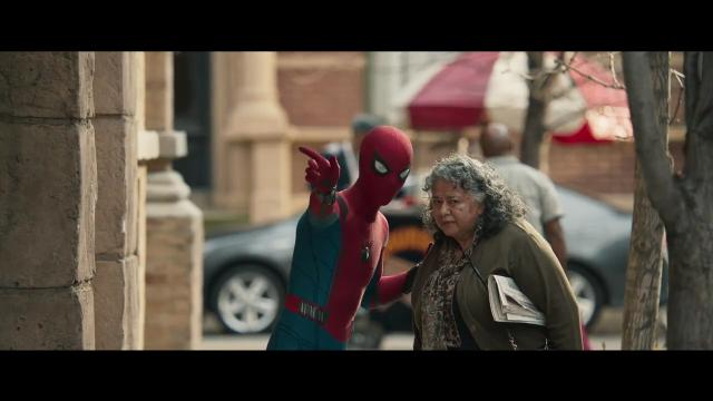 Peter Parker (Tom Holland) juggles his school life and superhero existence in 'Spider-Man: Homecoming.'