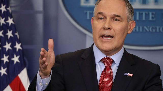 EPA Administrator Scott Pruitt said the coal industry added 50,000 jobs recently, but the real figure was only about 1,000. Video provided by Newsy