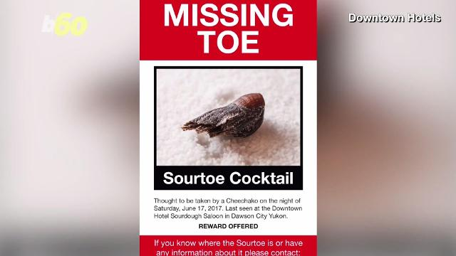 Believe it or not, the signature drink at the Downtown Hotel in Canada is made with a mummified toe... and it was stolen. Josh King has the story (@abridgetoland).