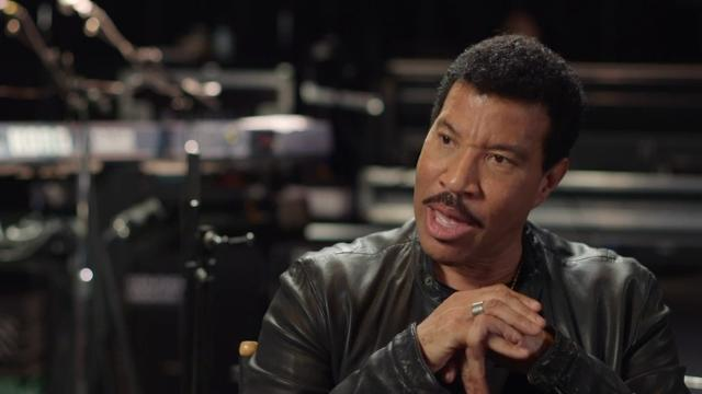 """Lionel Richie talks about the special guest on his tour being Mariah Carey, saying it is going to be """"camp city."""" (June 10)"""