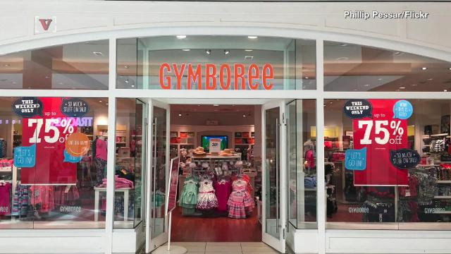 Gymboree is filing for bankruptcy and closing up to 450 stores
