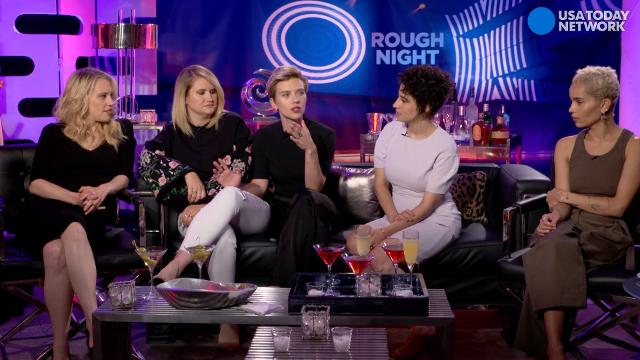 Not sure how to celebrate your bachelorette party? The stars of 'Rough Night' have you covered!