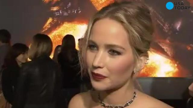 Engine failed on Jennifer Lawrence's private plane