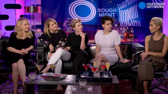 The stars of 'Rough Night' decide who among them would be best at hiding a dead body.