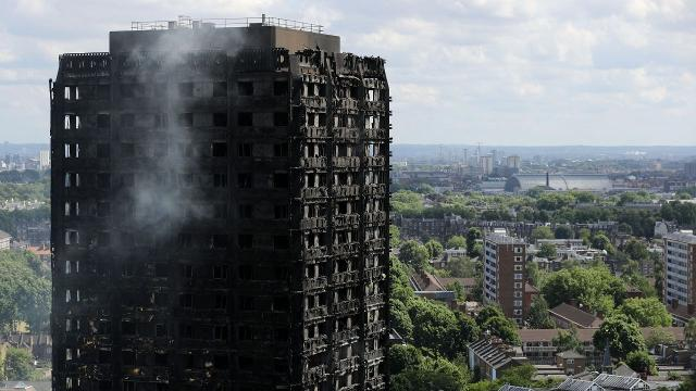 U.K prime minister wants answers about the London apartment tower fire