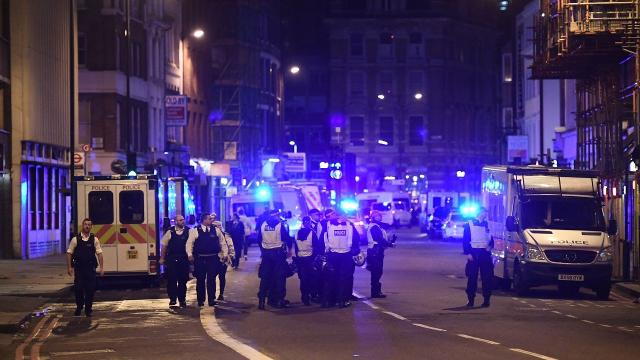 12 arrested in connection to London Bridge, borough market attack
