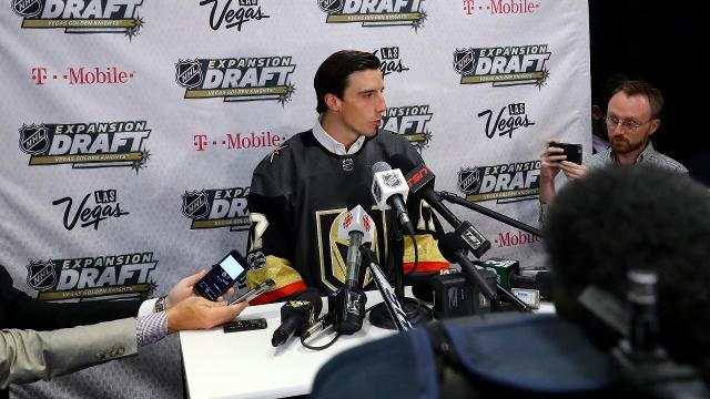 Marc-Andre Fleury will be in the goal for the expansion Vegas Golden Knights as the team announced its draft selections on Wednesday night.