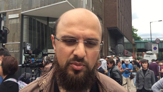 Members of international Muslim group show solidarity London Bridge