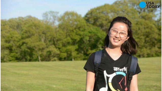 Yingying Zhang, 26, was last seen on a security camera video camera getting into a black Saturn Astra in Urbana, Ill., on June 9.