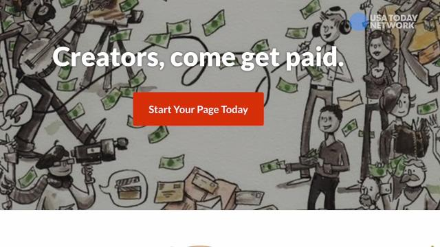 Patreon offers tools to get paid by fans