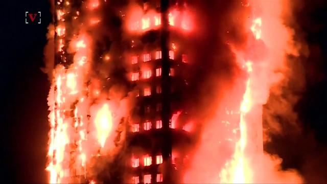 Residents relive terrifying escape from deadly London fire