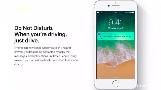 New iPhone update can block texts while driving