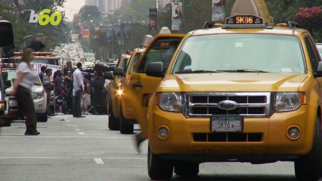 Soon you will be able to share a taxi, just like Via or Uberpool. Elizabeth Keatinge (@elizkeatinge) has more.
