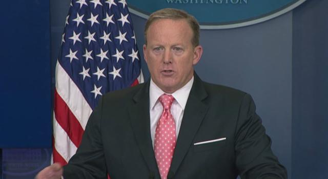 Spicer: The president's tweets are 'official statements'