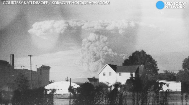 Decades after Mount St. Helens' deadly 1980 eruption, a photographer found these dramatic images in an old camera at Goodwill.