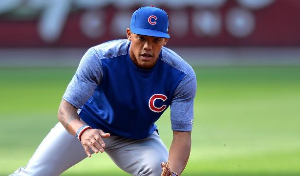 Chicago Cubs infielder Addison Russell has been accused of hitting his wife, Melissa, and MLB has said it will investigate the allegation.