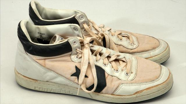 4740f47437c2 Michael Jordan s game-worn sneakers from 1984 Olympics sell for  190K