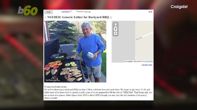 Craigslist ad seeking 'BBQ Dad' goes viral