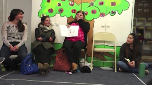 Fairy tale proposal makes teacher cry