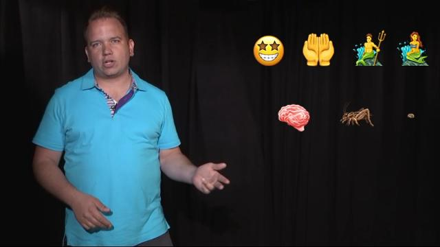 "A new set of emojis are being released and now you can show ""mind blown,"" skeptical face and even crickets. (June 22)"