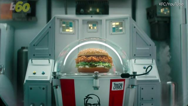 KFC is actually sending a chicken sandwich to space