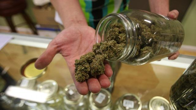 A study found a correlation between some states with legalized recreational marijuana use and the frequency of collision claim reports. Video provided by Newsy