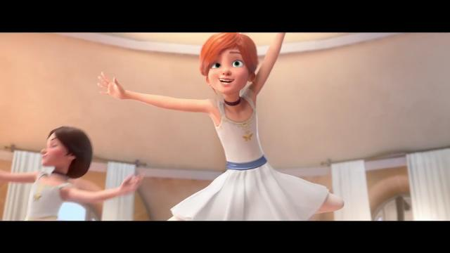 Carly Rae Jepsen's hit 'Cut to the Feeling' gives extra life to a story about a girl who dreams of being a dancer in an exclusive trailer for the animated film 'Leap!'