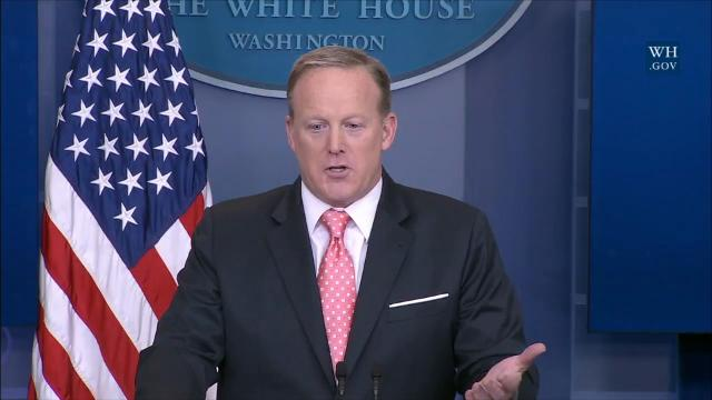 Spicer says he hasn't spoken with Trump about confidence in Sessions