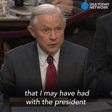 Sessions won't say why James Comey was fired