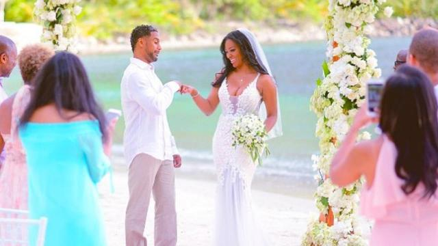 Kenya Moore nearly thought love had passed her by.