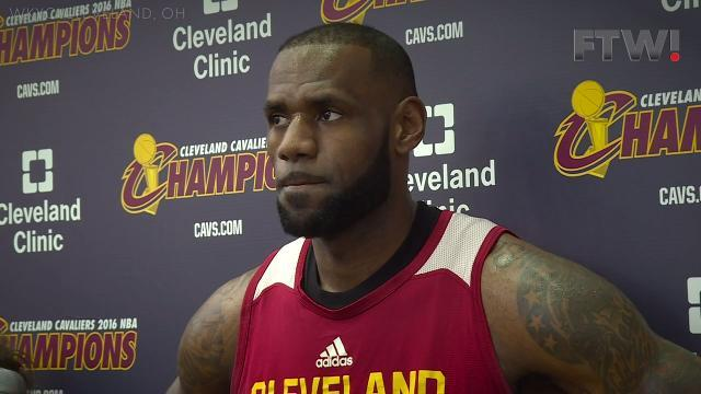 258eb9a5296 Andre Iguodala says he didn t feel LeBron s kick to the groin during  crucial block