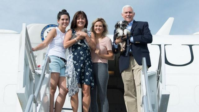 Meet Vice President Mike Pence's newest fur babies