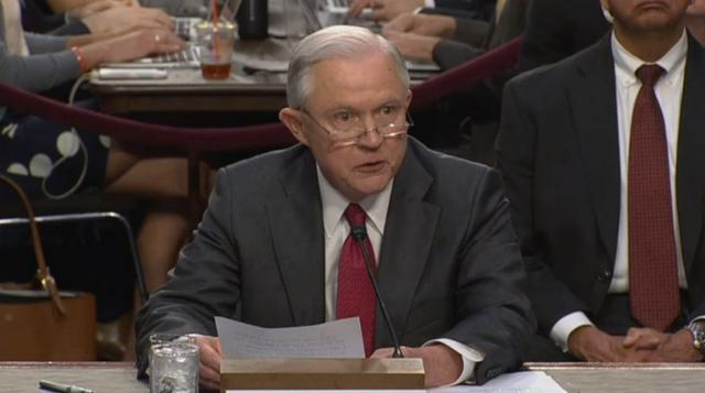 Sessions: Claims of Russia collusion 'detestable lie'