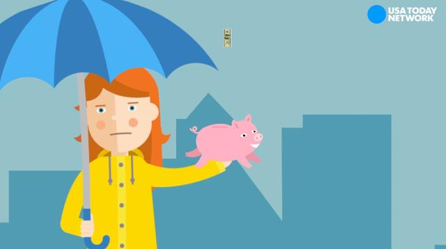 Don't let rainy days cloud your feelings! Instead, here's how to start a rainy day fund.