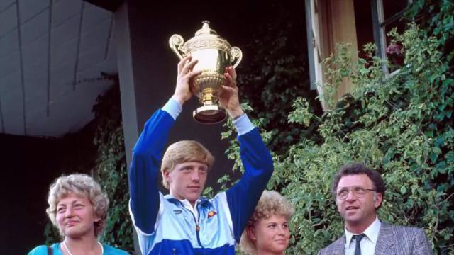 Boris Becker won six majors during his tennis career, but the 49-year-old was declared bankrupt by a British court.