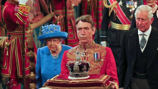 Queen Elizabeth may be getting some new curtains. Angeli Kakade (@angelikakade) has the scoop.