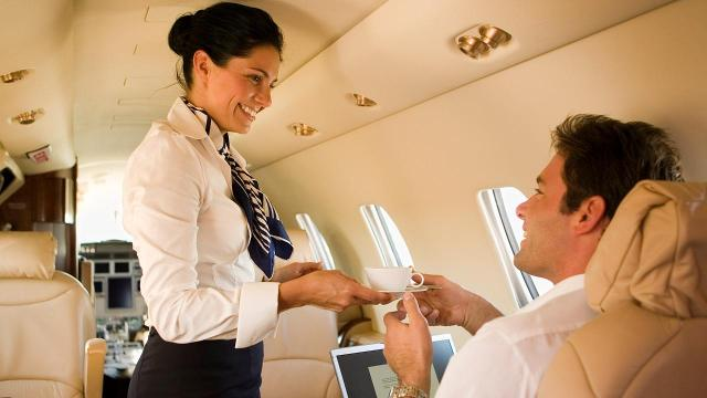You may want to think twice before you order that English breakfast blend, according to cabin crew members.
