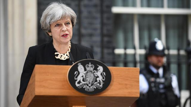 Theresa May responds to London Bridge attack