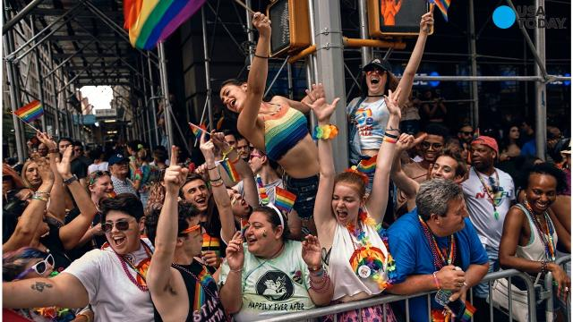 On Sunday, June 25th, New York City held its annual LGBT pride march.